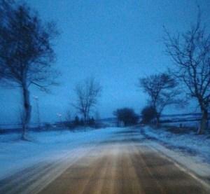 asa se circula duminica dimineata pe drumul Trusesti- Stefanesti, stiri, botosani