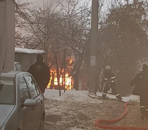 incendiu, pompieri, botosani, strada imparat traian