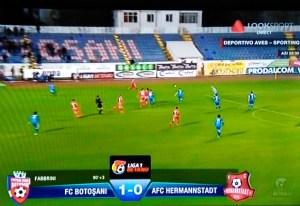 FC Botosani- Hermannstadt