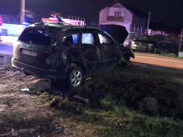 accident flamanzi- botosani