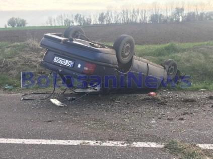 accident la Saucenita- Botosani
