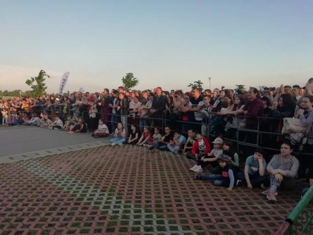 concert la parcul de agrement cornisa Botosani