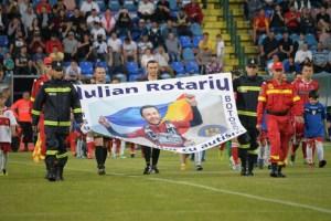 Iulian Rotariu pe stadionul municipal la FC Botosani- Dinamo