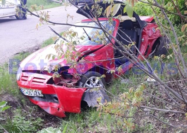accident Avrameni- Botosani