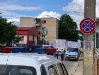 accident in fata Politiei Rutiere- Botosani