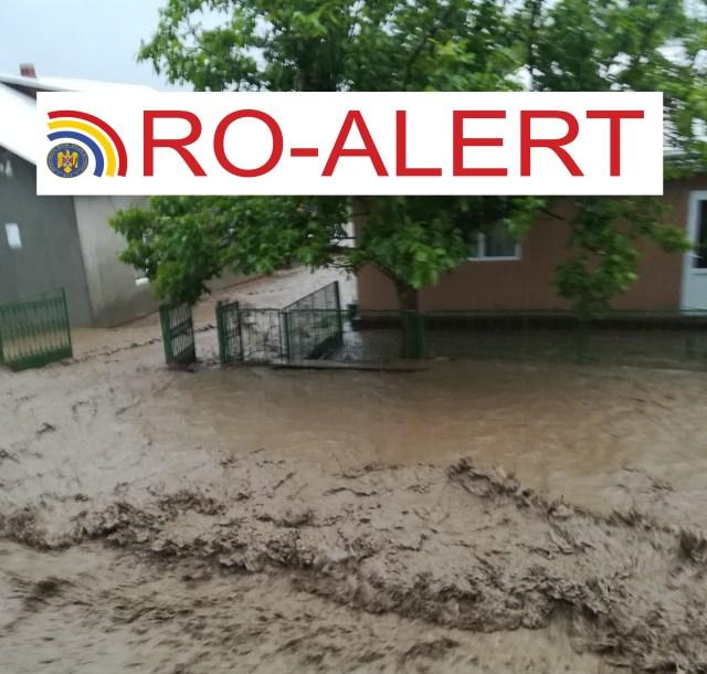 Inundatii- Ro Alert la Botosani