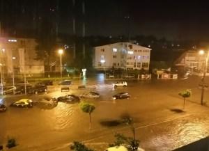 inundatii Calea Nationala din Botosani
