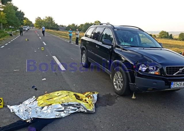 accident mortal la Varfu Campului- Botosani