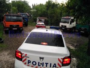 politie inecat in municipiul Botosani