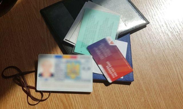 Carte de identitate falsă descoperită la controlul de frontieră Botosani (1)