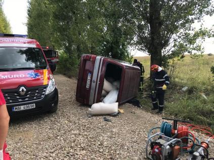 accident la Unteni Botosani
