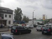 accident rutier in zona magazinului Util - Calea Nationala - Botosani