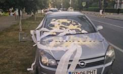 masina cu hartie igienica, masina vandalizata, stiri, botosani (6)