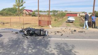 accident motocicleta Brehuiesti- Botosani (1)