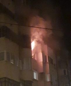 incendiu pietonalul transilvaniei din Botosani 5