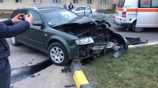accident pe strada Uzinei in fata Lidl Botosani (1)