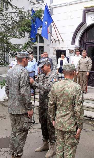 """Comandantul Batalionului 355 Artilerie """"Alexandru cel Bun"""" Botoșani, maiorul Codruț Ștefan Obreja6"""