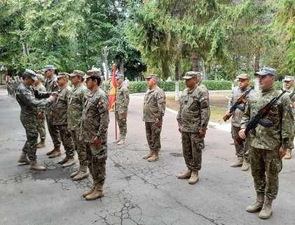 """Comandantul Batalionului 355 Artilerie """"Alexandru cel Bun"""" Botoșani, maiorul Codruț Ștefan Obreja7"""