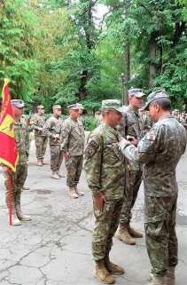 """Comandantul Batalionului 355 Artilerie """"Alexandru cel Bun"""" Botoșani, maiorul Codruț Ștefan Obreja8"""