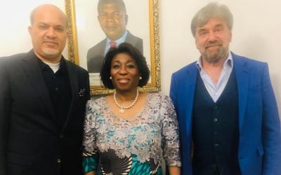 EMPRESÁRIO ALEMÃO, PRETENDE INVESTIR NA INDÚSTRIA TÊXTIL ANGOLANA