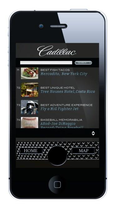 Cadillac App
