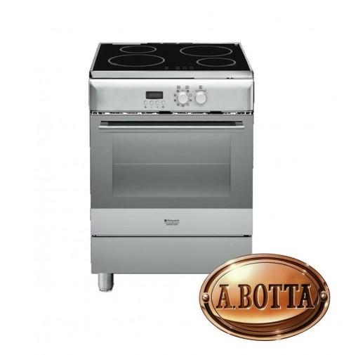 Cucina Con Piano Cottura Induzione Hotpoint Ariston H6imaac X Forno Elettrico