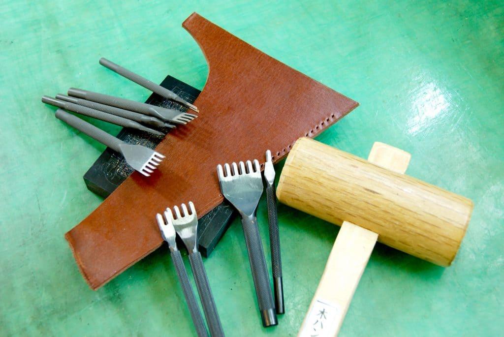 革製品 手縫いに使う道具