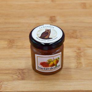 Crema di pere allo zafferano