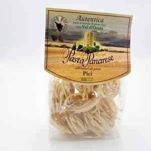 Authentic durum wheat semolina pasta from Val d'Orcia.