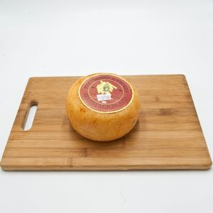Semi-aged red Pecorino Cheese from Pienza