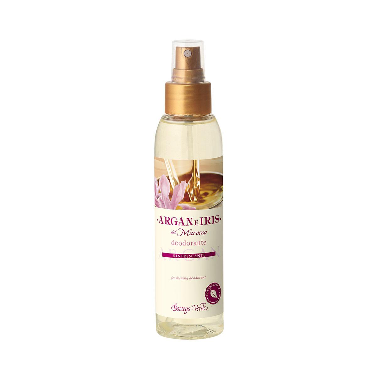 Argan e Iris del Marocco - Parfum deodorant rinfrescante (125 ml)