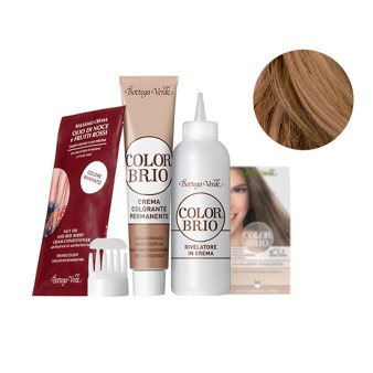 Color Brio - Vopsea de par  - blond natural deschis (60 ML + 60 ML + 20 ML)