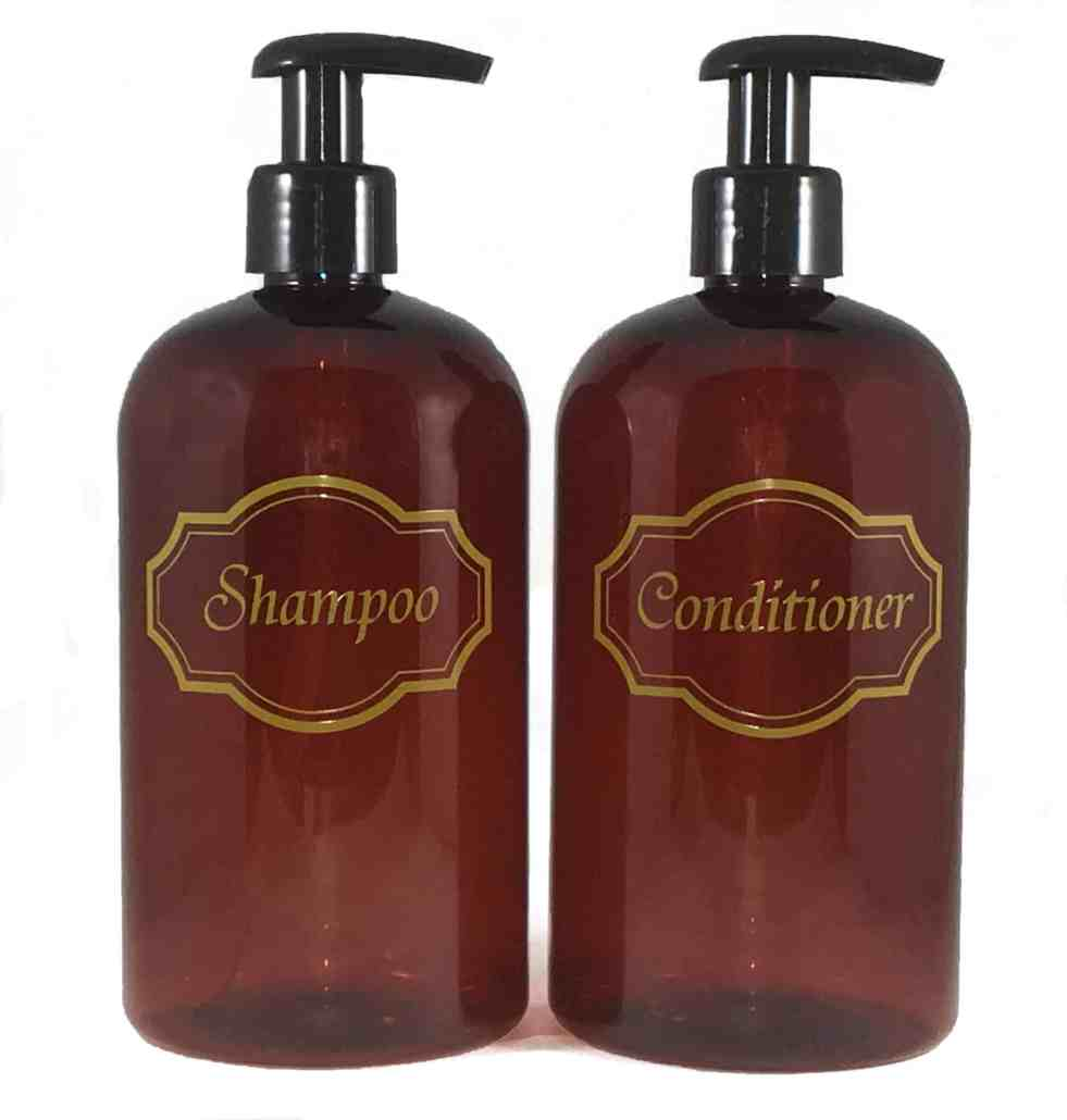 Shampoo & Conditioner Containers