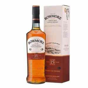 Whisky Bowmore 15 Yo Cl 70