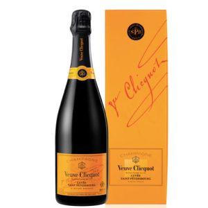 Veuve Clicquot Champagne Brut Cuvée Saint Pètersbourg Coffret