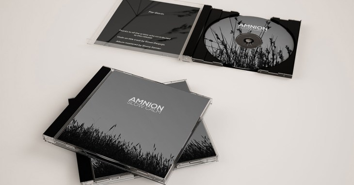 Slow Calm Disc and CD Case