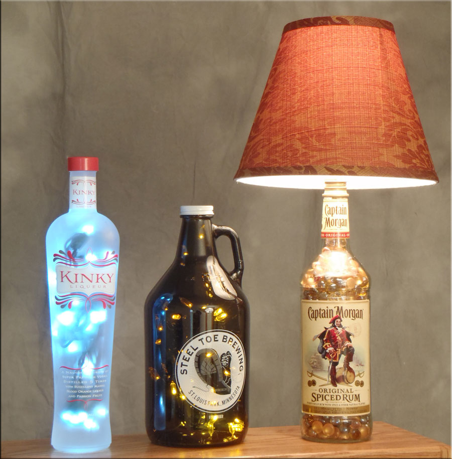 Recycled bottle projects anyone can do how to make a for Diy bottle projects