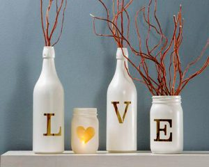 Valentines Day Bottle Ideas How To Make A Bottle Lamp