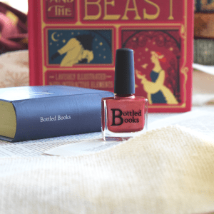 Bottled Books Enchanted Rose nail polish