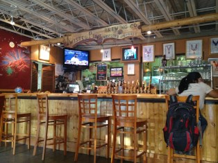 The Twisted Pine bar