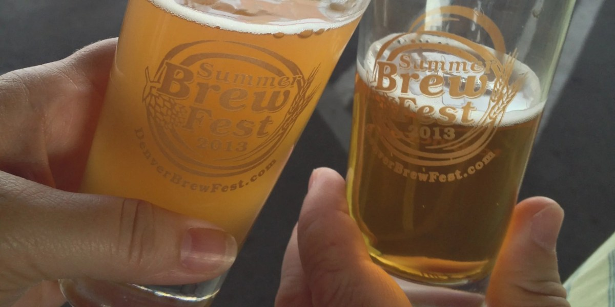 Denver Summer Brew Fest | BottleMakesThree.com