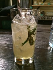 Honeycomb Rosemary Sour