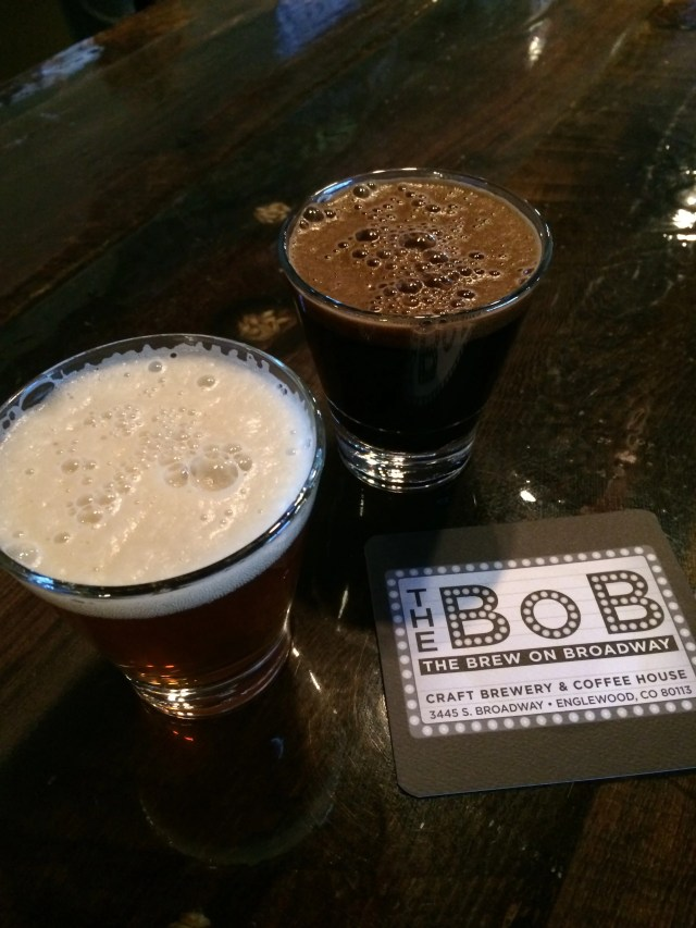 The BoB's Tuileries IPA and Skerritt's Russian Imperial Stout
