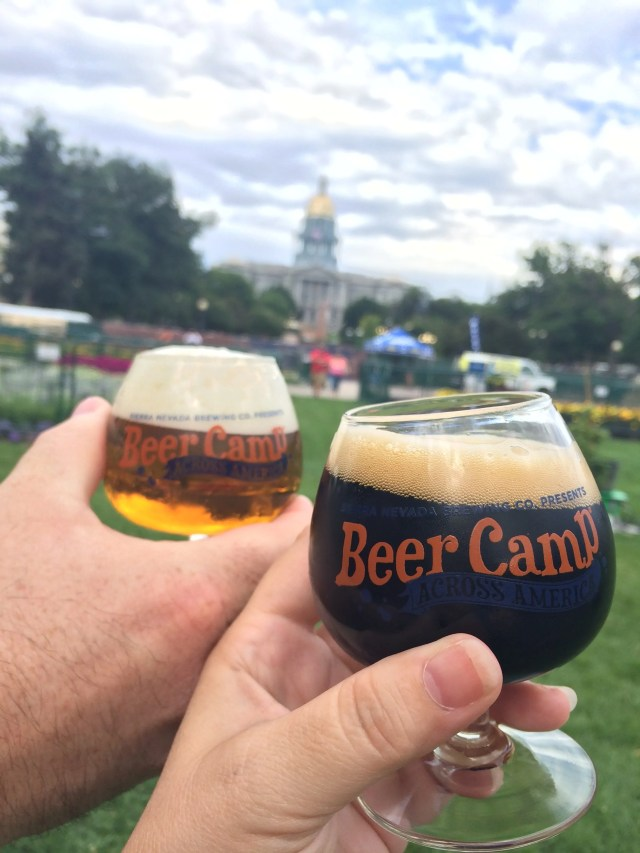 Cheers to the start of Beer Camp!