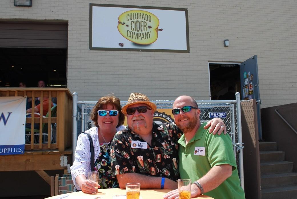 Good cider + good friends = a good time!