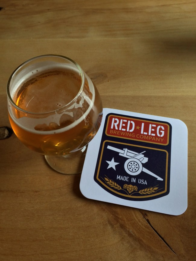 SGT PILS at Red Leg Brewing Company