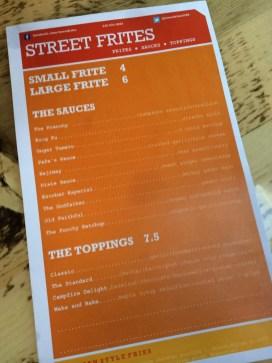 Seriously, read this menu