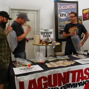 HopVapin with Lagunitas