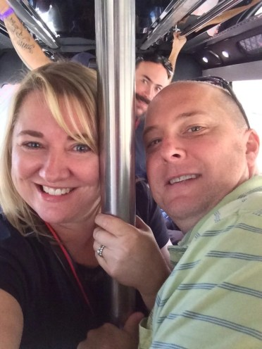 On the party bus to Stone!