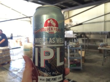 Fresh off the canning line, a delicious Might As Well IPL